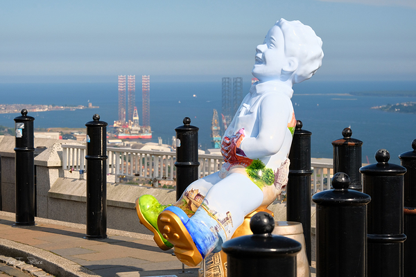 Oor Wullie on top of the world