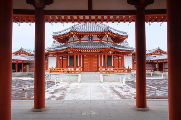 the treasure house at Yakushi-ji