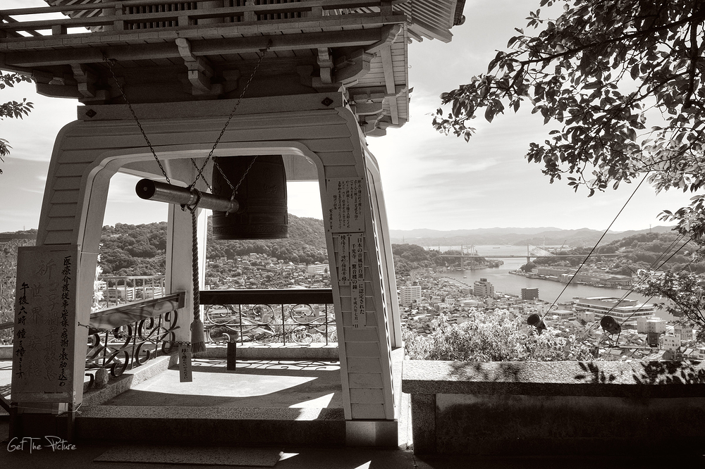 The view from the bell at Senkoji, Onomichi