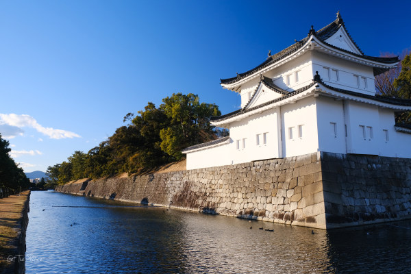 Kyoto's Nijo Castle, the south east turret