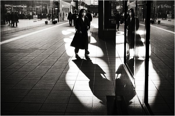 sundown on the city