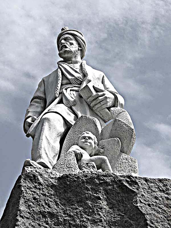 Ferdowsi 's sculpture