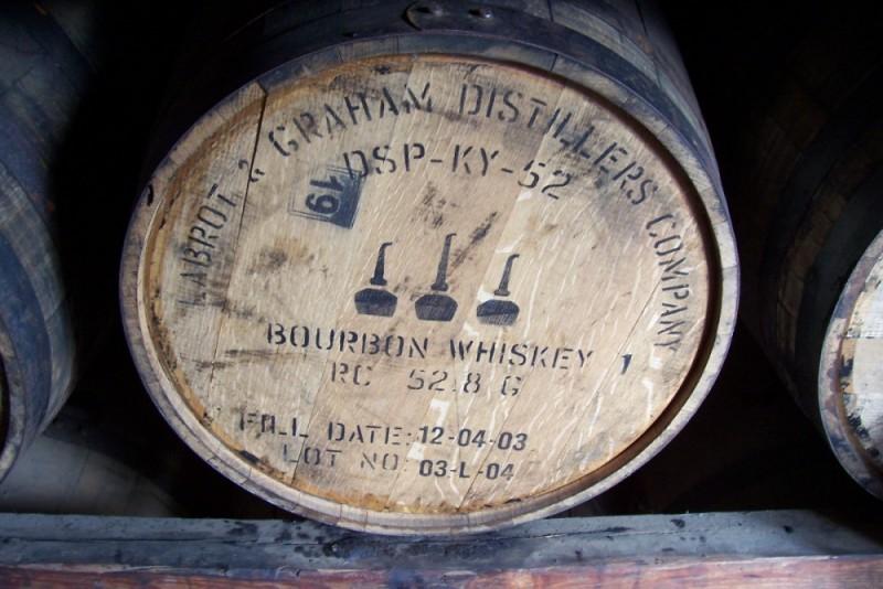Woodford Reserve bourbon barrel