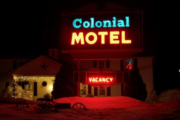 Colonial Motel.