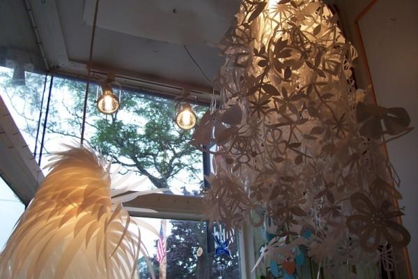 Paper Lamps.