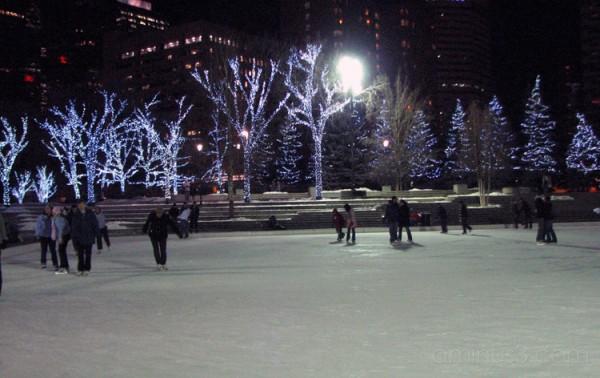 Olympic Plaza.