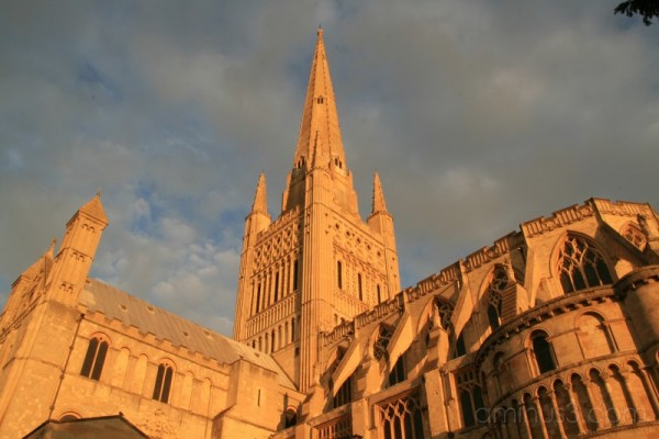 Norwich Cathedral Sunrise