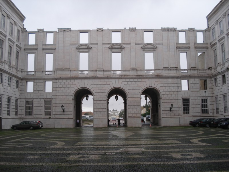 Palacio Ajuda Ala Oeste