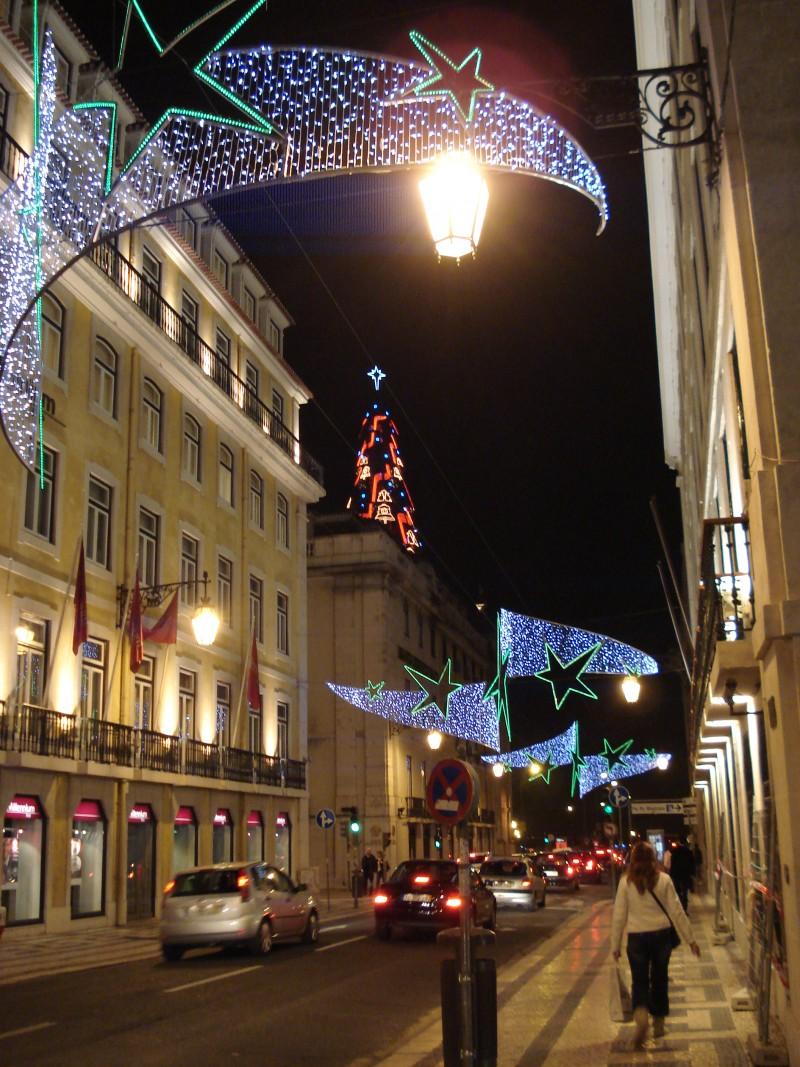 Arvore Natal Rua Prata