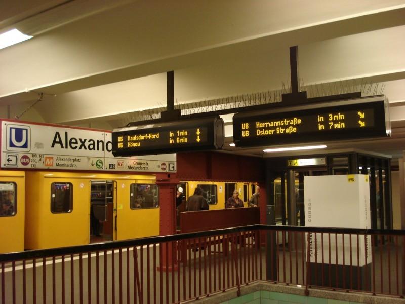 Alexanderplatz U2 2