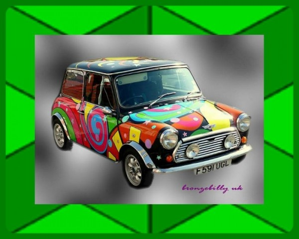 60's mini car
