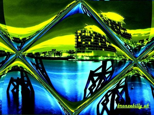 cardif bay diamond window