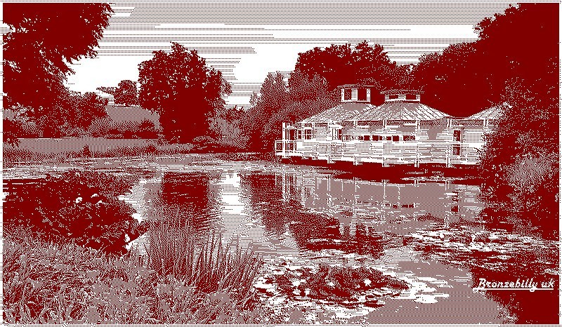 summer house lake