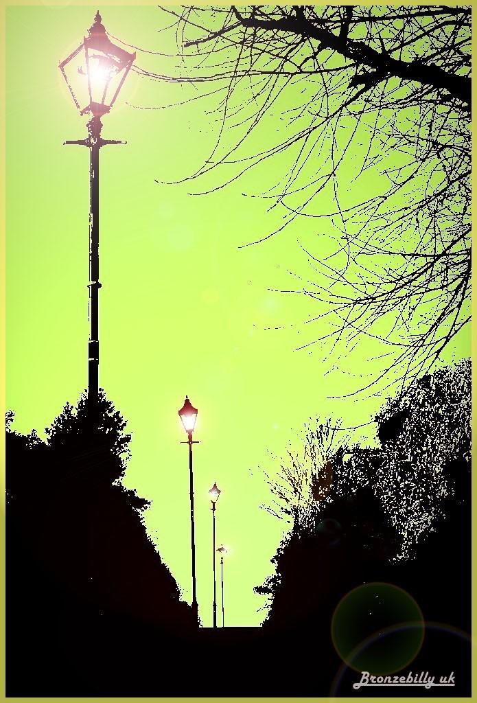 lamp light victorian