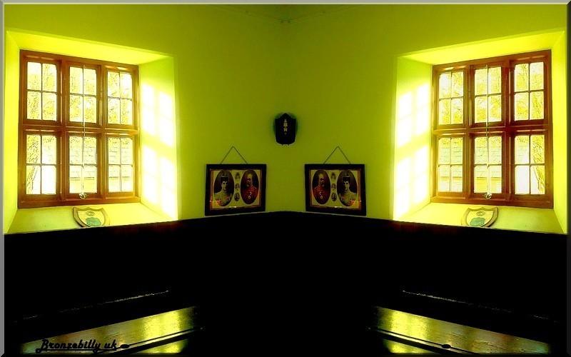 schoolroom vintage mirror