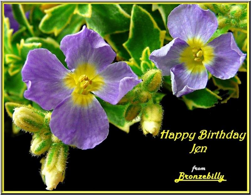 Jen's birthday
