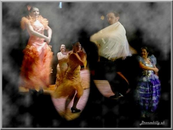 flemenco dancers