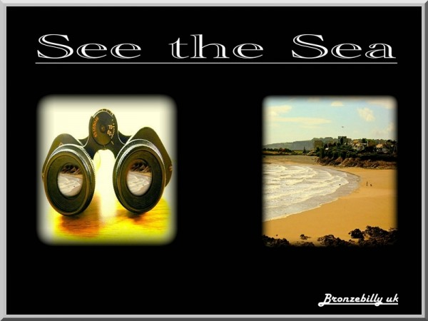 the sea and see