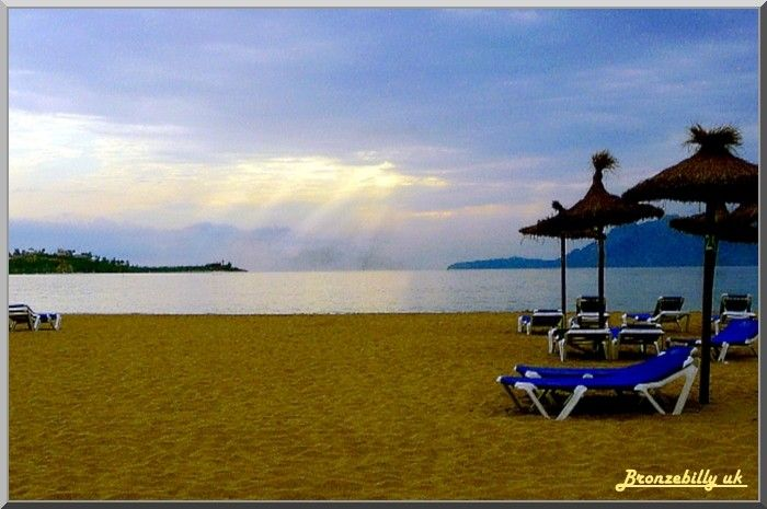 Majorca beach dawn