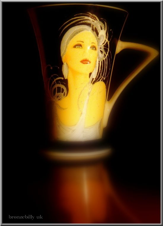 glamourpuss coffee mug bronzebilly