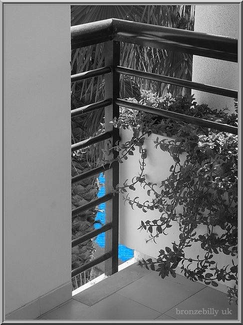 pool balcony mono colour bronzebillyuk