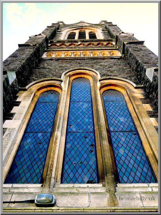 windows church holey bronzebilly