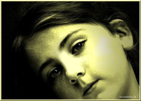 portrait granddaughter filter bronzebilly