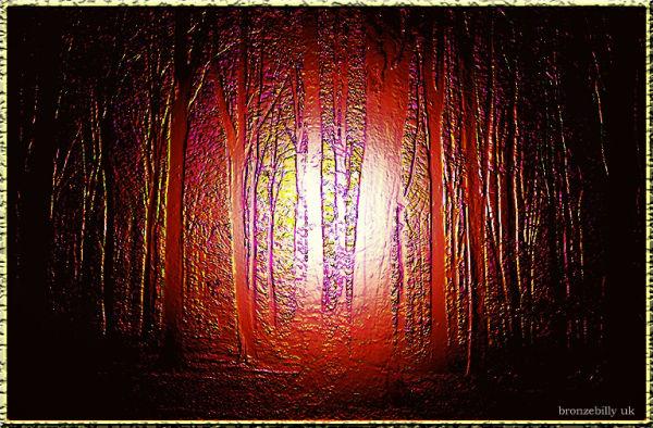 texture leather trees light bronzebilly