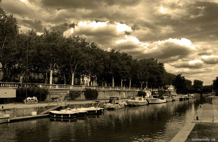 mono filter canal Narbonne France bronzebilly