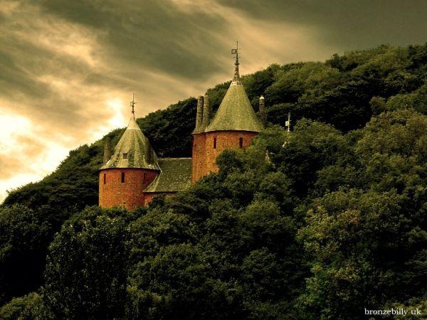 castle red forest sky bronzebilly