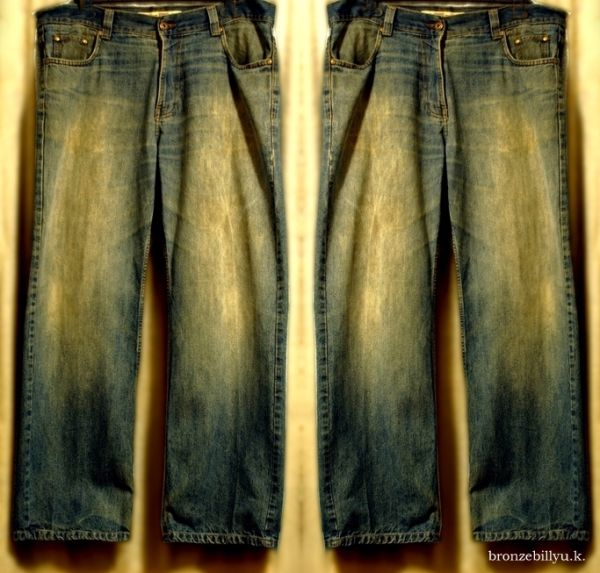 vintage jeans blue colour bronzebilly
