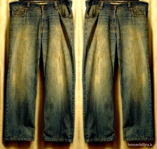 vintage jeans blue colour bronzebilly