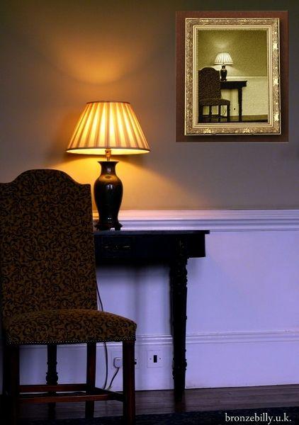 lamp chair light room frame bronzebilly