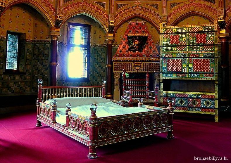 bedroom light furniture antique interior castle br