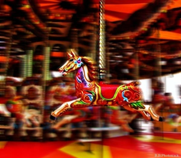 Fairground speed colour blur bronzebilly