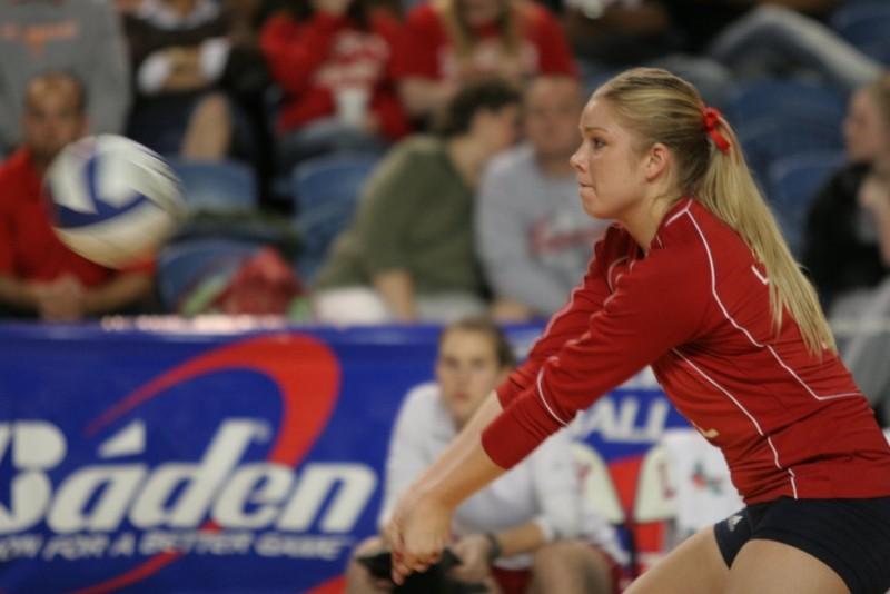 Liberty University Women's Volleyball game