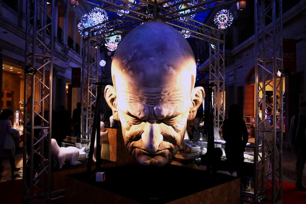 big head at Venus Fort Odaiba Tokyo