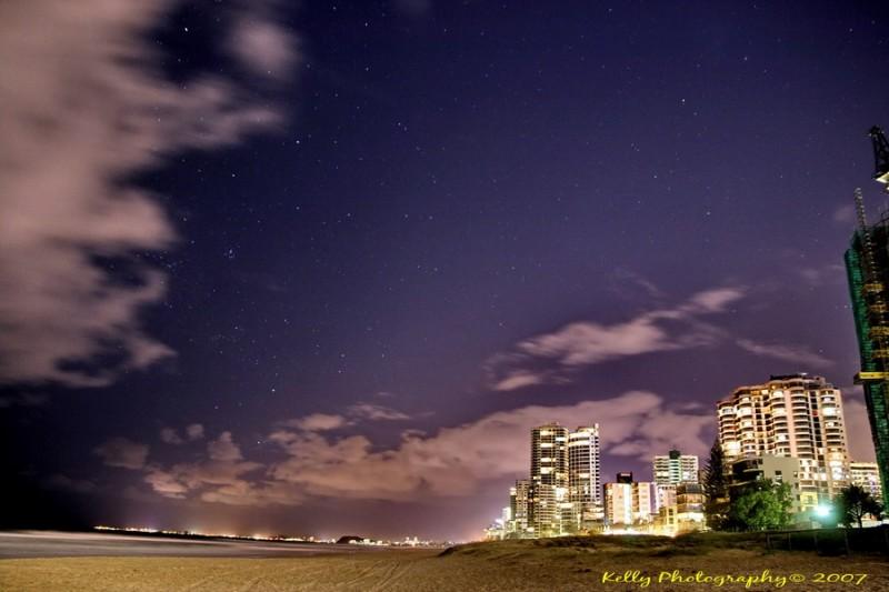 Starry starry night.