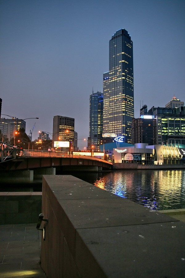 Melbourne's second tallest building