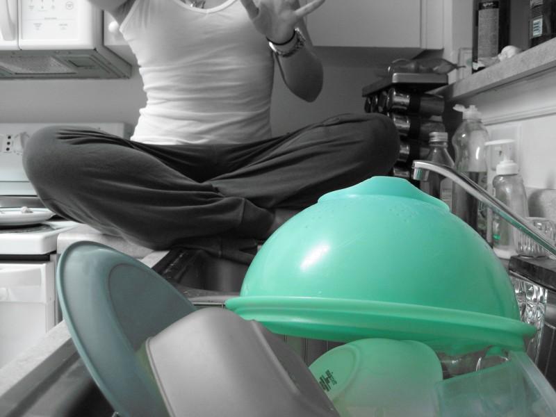...green bowl...