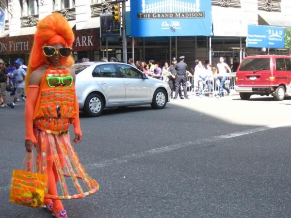 ...the queen of orange...