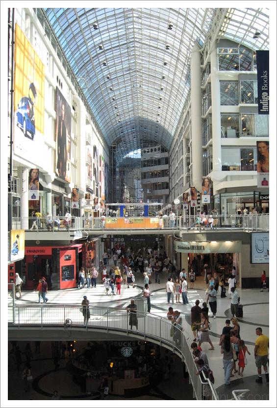 Eaton Centre - Toronto, Canada