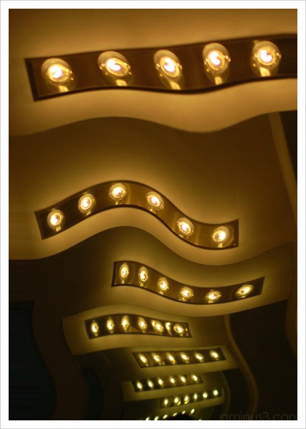 Twirled Light Bulbs