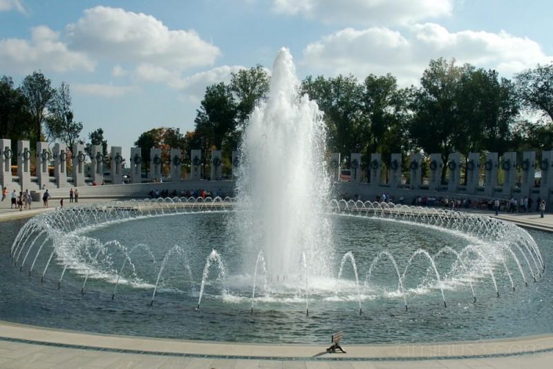 WWII Memorial Fountain