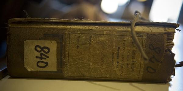 Old Census Ledger