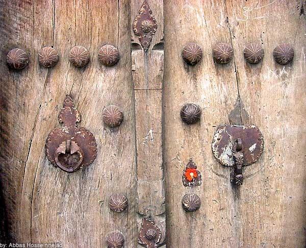 An ancient door