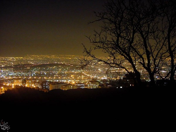 Tehran in night!