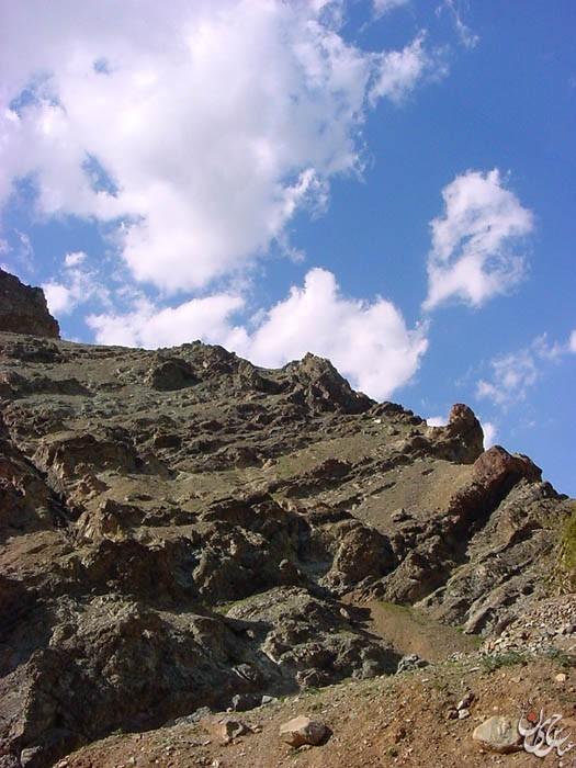 Mountain & sky