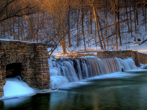 Cold and flowing