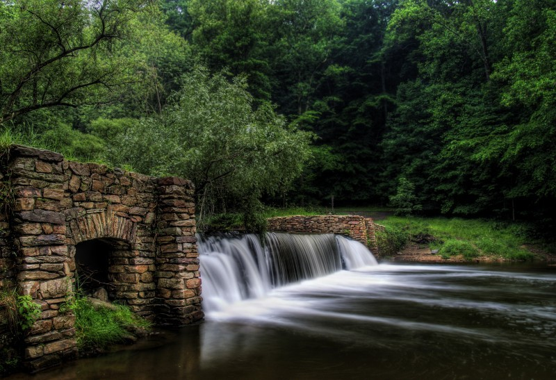 Valley Forge Waterfall
